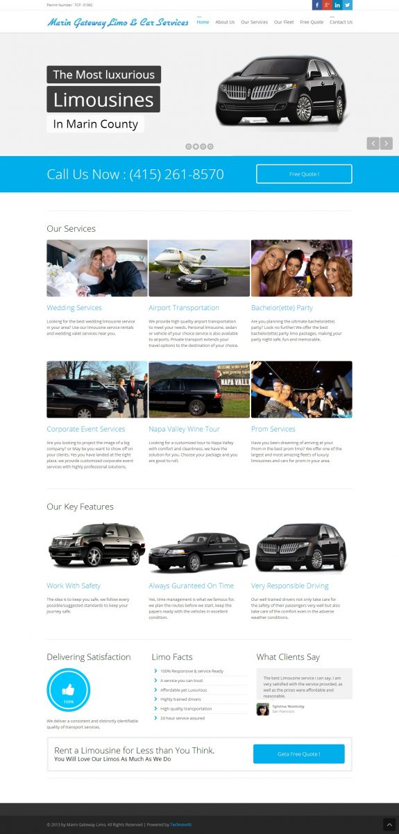 marin gateway limo car services